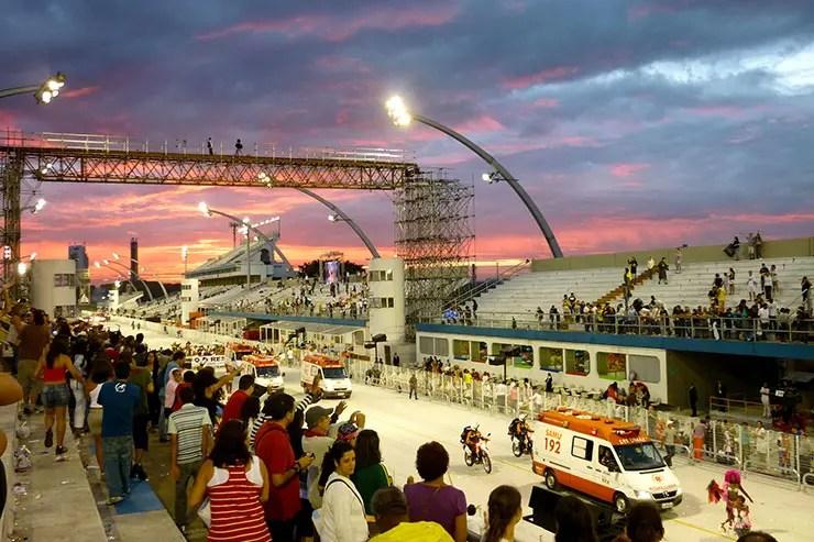 Como chegar ao Sambódromo do Anhembi (Foto: Esse Mundo é Nosso)