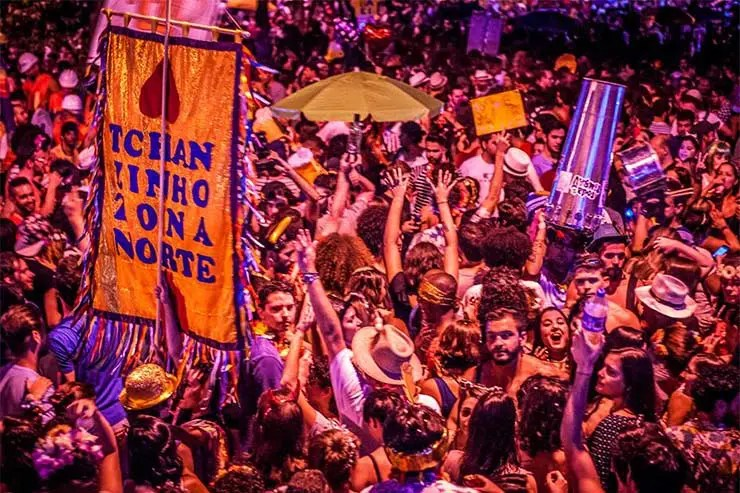 Blocos do Carnaval de BH 2018 - Tchanzinho da Zona Norte (Foto: Eliene Resende/Facebook)
