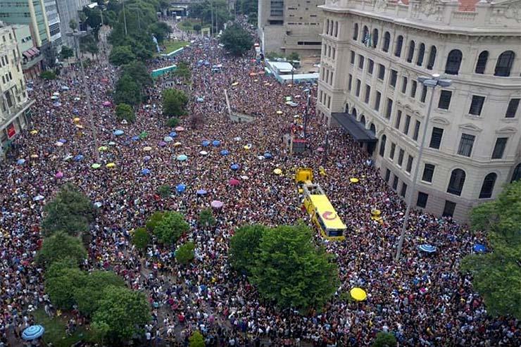 Blocos do Carnaval de São Paulo - Domingo ela não vai (Foto: Facebook)