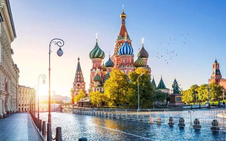 Chip de celular pra Rússia - MySimTravel (Foto via Shutterstock)
