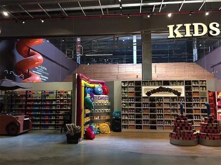 Destinos no Brasil para amantes de Chocolate - Cacau Show Mega Store (Foto via @instamamae)