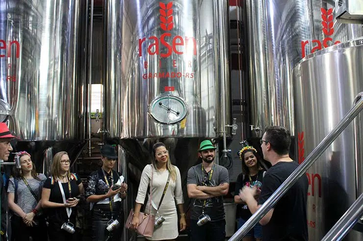 Cervejarias de Gramado e Canela no Bus Bier Tour (Foto: Esse Mundo É Nosso)