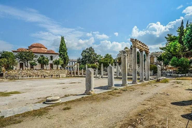 O que fazer em Atenas, Grécia - Ágora Romana