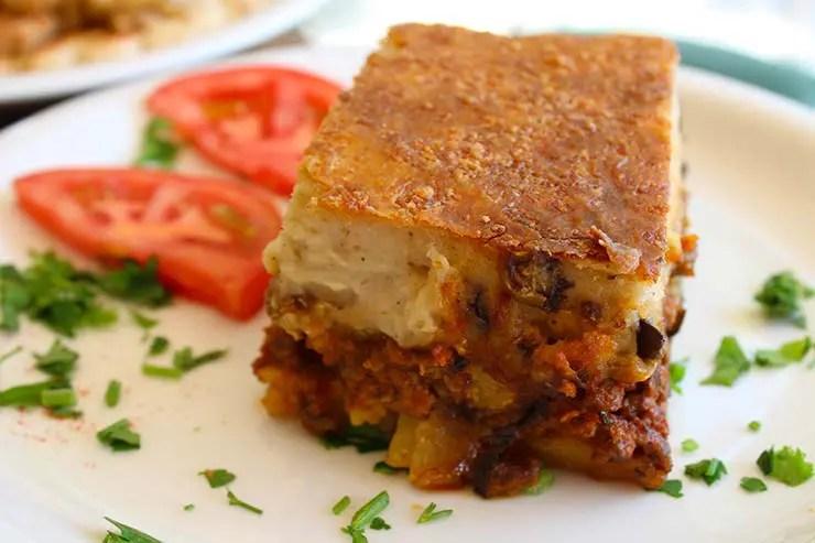 Típicos pratos gregos - Moussaka (Foto: Esse Mundo É Nosso)