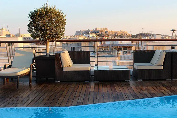 Rooftops em Atenas, Grécia - Meliá Athens (Foto: Esse Mundo É Nosso)