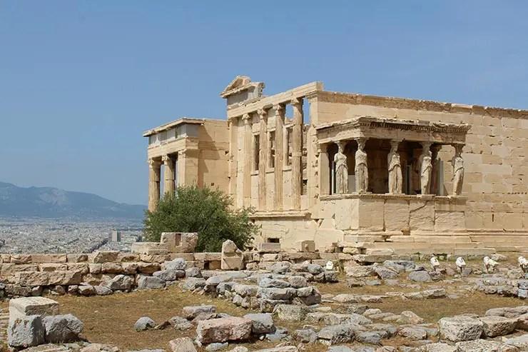 O que fazer em Atenas, Grécia - Acrópole (Foto: Esse Mundo É Nosso)