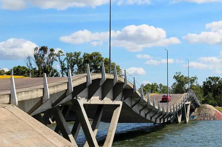 Ponte Ondulada de Punta del Este, Uruguai (Foto: Esse Mundo É Nosso)