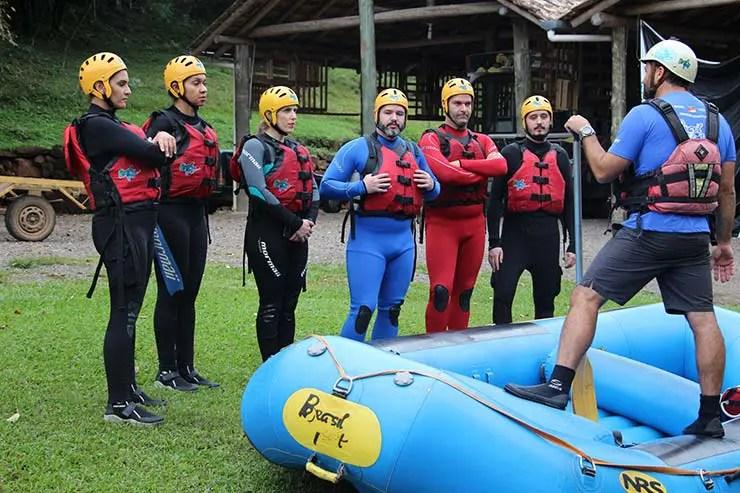 Rafting em Gramado e região com a Brasil Raft Park (Foto: Brasil Raft Park)