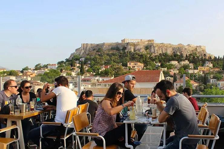 Rooftops em Atenas, Grécia - City Zen (Foto: Esse Mundo É Nosso)