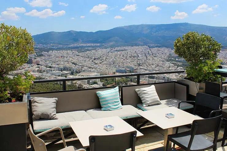 Rooftops em Atenas, Grécia - Orizontes Lycabettus (Foto: Esse Mundo É Nosso)