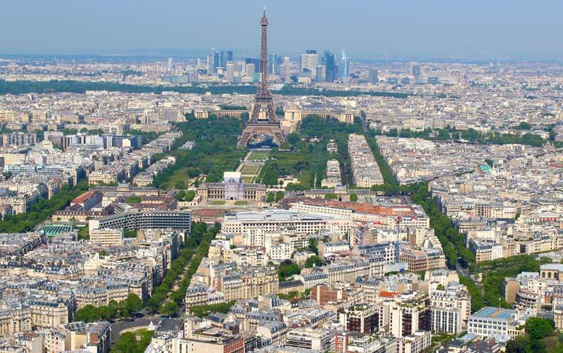 Vista de Paris a partir da Torre Montparnasse (Foto: Esse Mundo É Nosso)