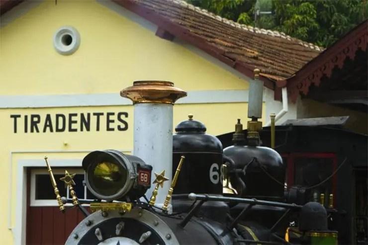 Como comprar ingresso da Maria Fumaça de Tiradentes - São João del Rei (Foto: Divulgação/VLI)