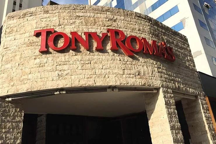 Tony Roma's em São Paulo (Foto: Esse Mundo É Nosso)