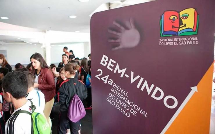 Como chegar à Bienal do Livro de SP (Foto: Divulgação - Site Oficial)