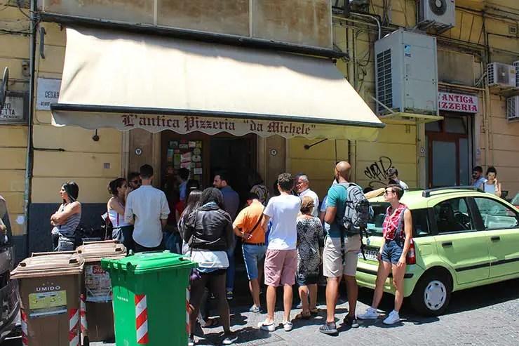 Pizza mais famosa de Nápoles (Foto: Esse Mundo é Nosso)