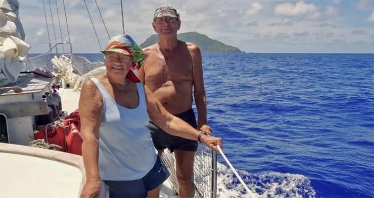 Esse casal de idosos viaja pelo mundo há mais de 60 anos (Foto: Reprodução/Arquivo Pessoal)