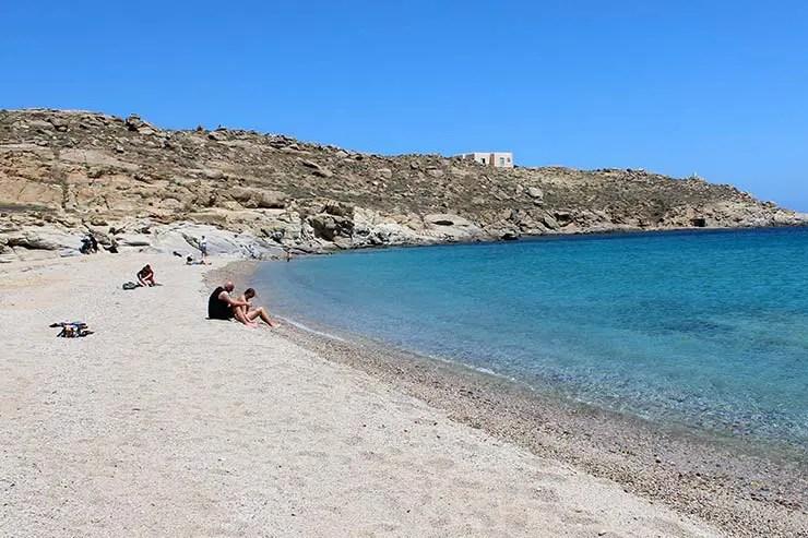 As melhores praias de Mykonos - Lia (Foto: Esse Mundo É Nosso)