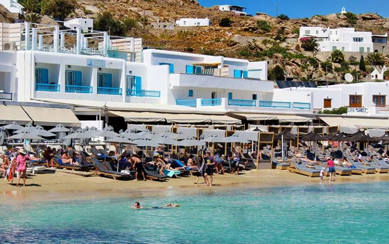 As melhores praias de Mykonos, Grécia (Foto: Esse Mundo É Nosso)