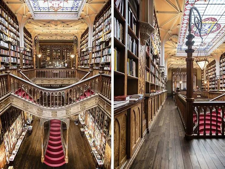 O que fazer no Porto, Portugal - Livraria Lello (Foto: Pixabay)
