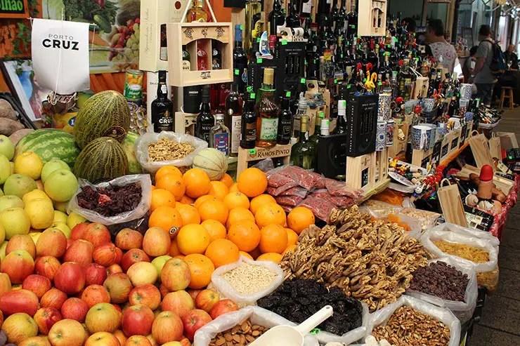 O que fazer no Porto, Portugal - Mercado Bolhão (Foto: Esse Mundo É Nosso)