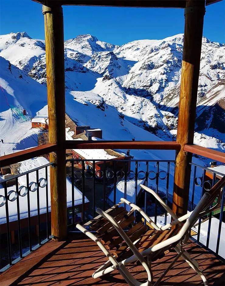 Como é se hospedar no Valle Nevado, no Chile (Foto: Esse Mundo É Nosso)