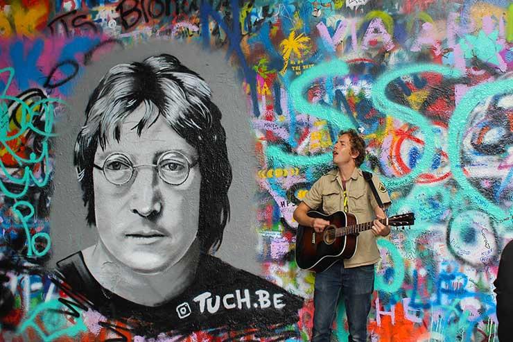 Roteiro em Praga: John Lennon Wall (Foto: Esse Mundo é Nosso)