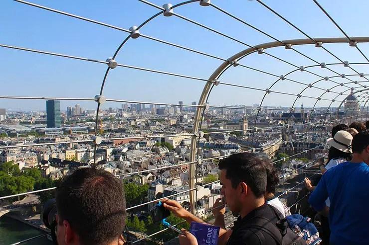 Vista de Paris - Notre Dame (Foto: Esse Mundo É Nosso)