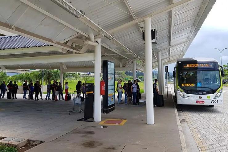 Monotrilho pro aeroporto de Guarulhos (Foto; Esse Mundo é Nosso)