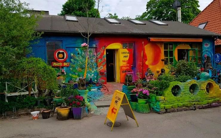 Christiania: Território livre de Copenhagen na Dinamarca (Foto: Esse Mundo é Nosso)