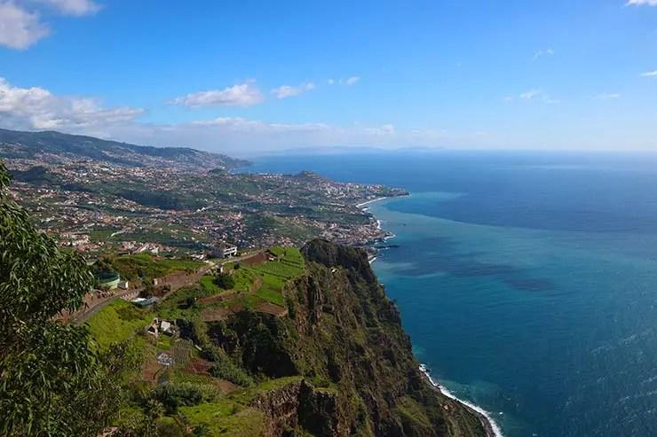 Cabo Girão na Ilha da Madeira (Foto: Esse Mundo é Nosso)