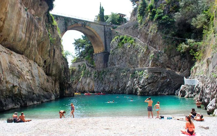 Fiordo di Furore, Costa Amalfitana - Itália (Foto: Esse Mundo É Nosso)