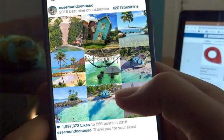 Best Nine 2018: Fotos mais curtidas no Instagram (Foto: Esse Mundo É Nosso)