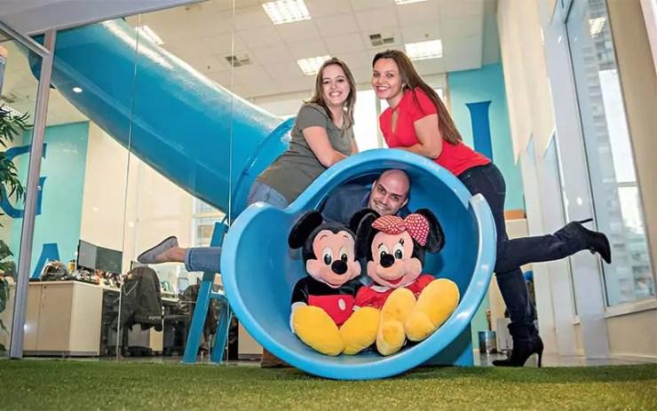 Empresa de SP leva todos funcionários pra Disney (Foto: Divulgação/Grupo Gaia)