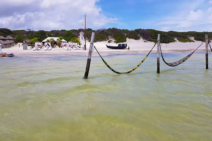 Lagoa do Paraíso - Melhores praias de Jericoacoara, Ceará (Foto: Esse Mundo É Nosso)