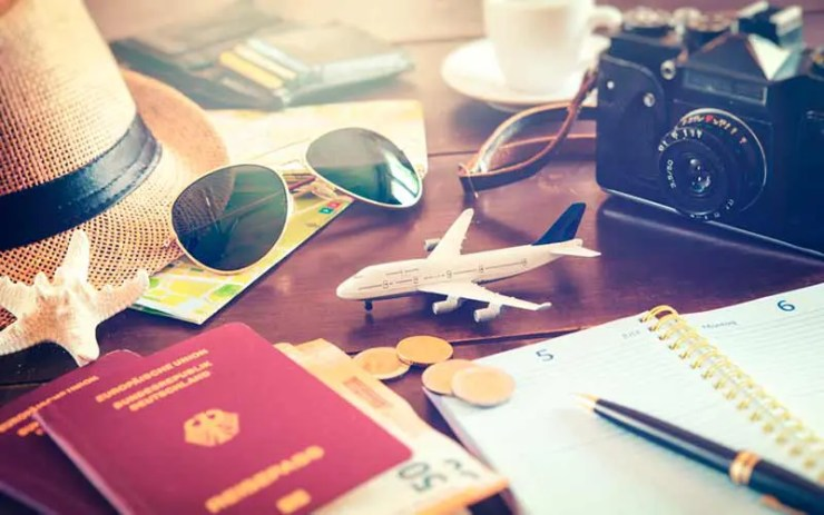 Como viajar mais em 2019 (Foto via Shutterstock)