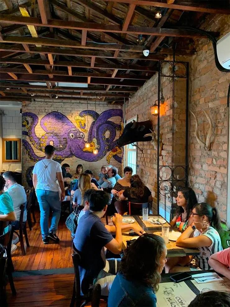 Restaurante Fôrno (Foto: Esse Mundo é Nosso)