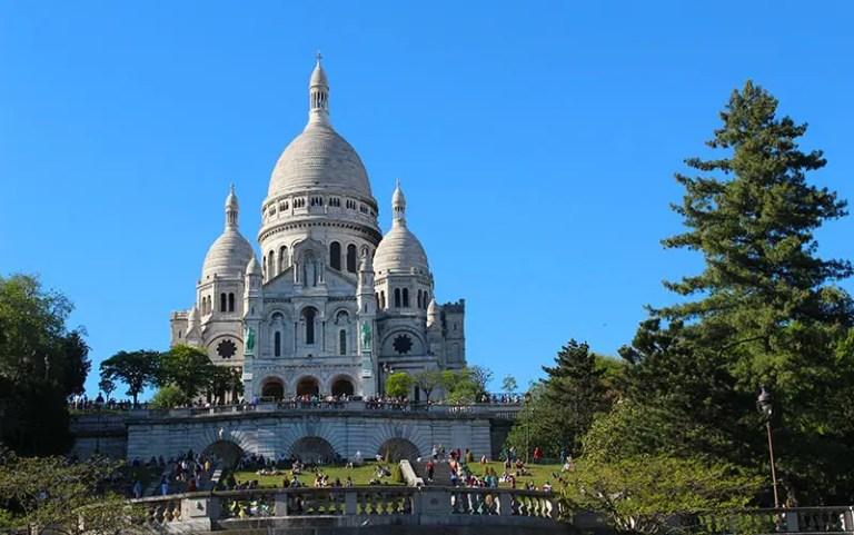 Sacré Couer em Paris (Foto: Esse Mundo é Nosso)