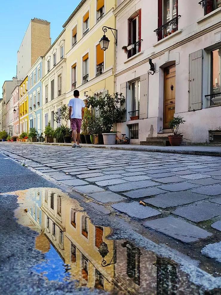 Rua Crémieux em Paris (Foto: Esse Mundo É Nosso)