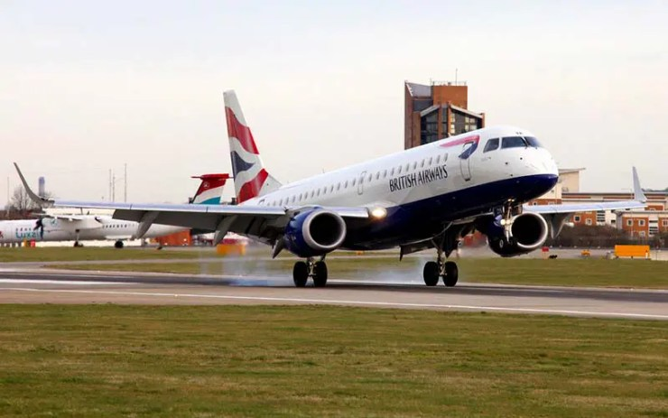 Embraer da British Airways (Foto: Nick Morrish/British Airways)