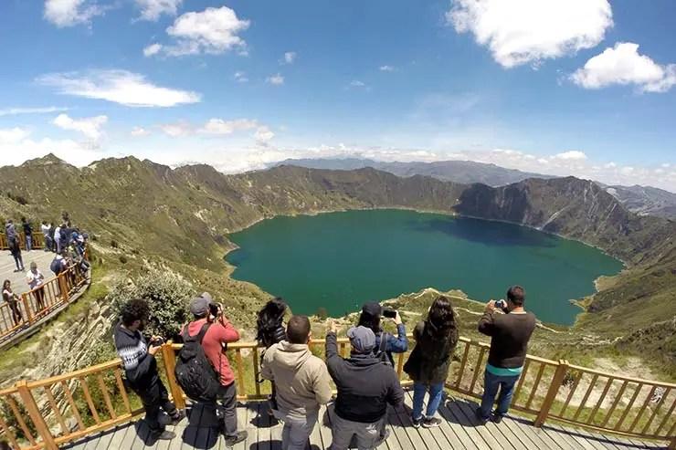 Vulcão Quilotoa, Equador (Foto: Esse Mundo É Nosso)
