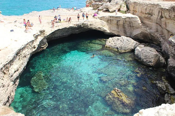 Melhores praias da Itália - Grotta della poesia (Foto: Esse Mundo é Nosso)