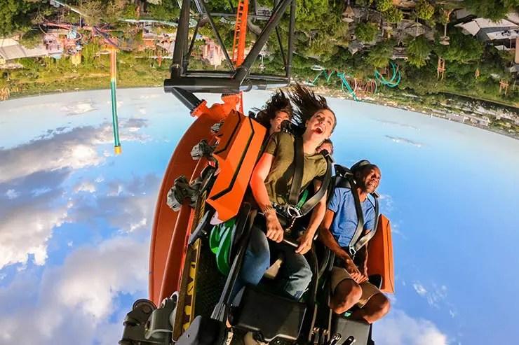 Nova montanha-russa do Busch Gardens (Foto: Divulgação)