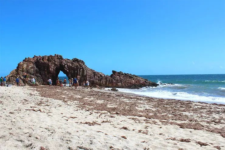 Passeios em Jericoacoara - Pedra Furada (Foto: Esse Mundo É Nosso)