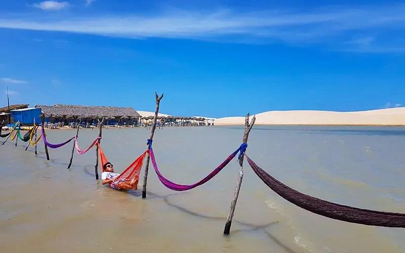 O que fazer em Jericoacoara - Lagoas de Tatajuba (Foto: Esse Mundo é Nosso)
