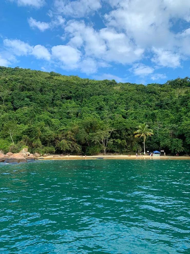 Saco do céu - Praia do Amor - Passeios em Ilha Grande (Foto: Esse Mundo é Nosso)