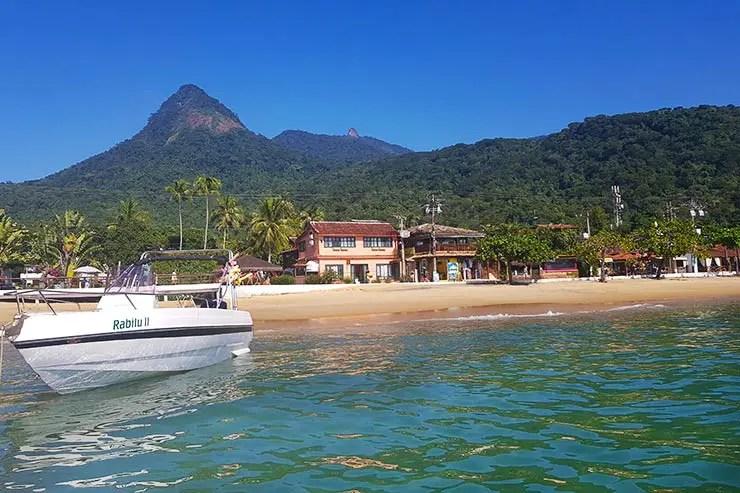 Praia da Vila do Abraão (Foto: Esse Mundo É Nosso)