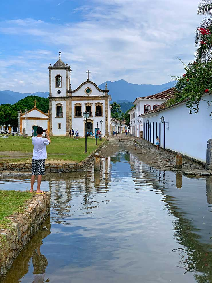 Centro histórico de Paraty (Foto: Esse Mundo é Nosso)