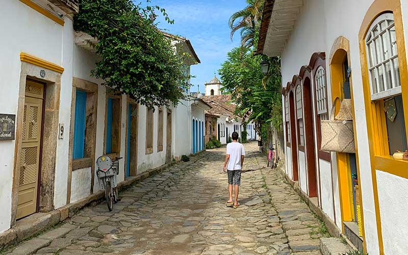 Ruas de Paraty (Foto: Esse Mundo É Nosso)
