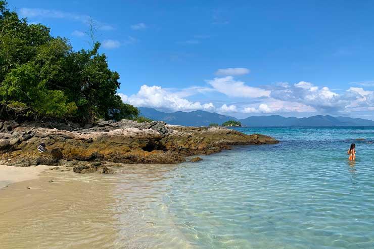 Ilhas Paradisíacas em Ilha Grande (Foto: Esse Mundo é Nosso)