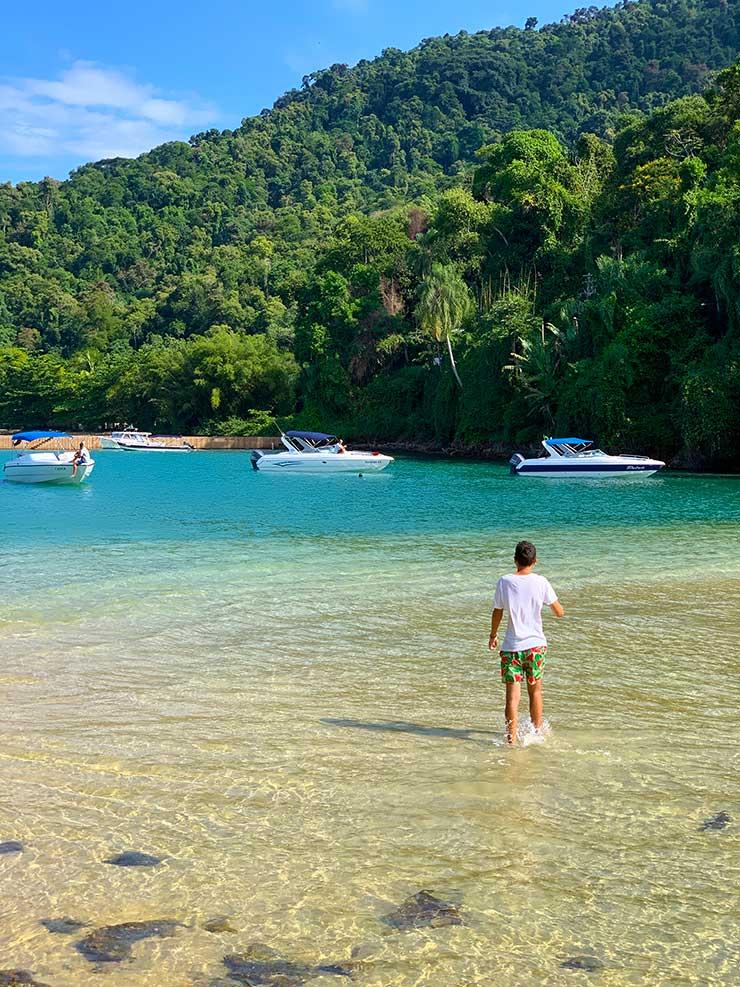 Praia da Piedade no tour das Ilhas Paradisíacas (Foto: Esse Mundo é Nosso)